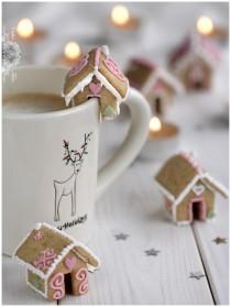 christmas cookies, gingerbread house