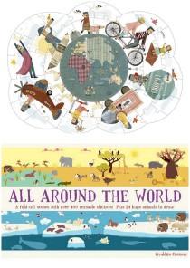 puzzle around the world, children around the world