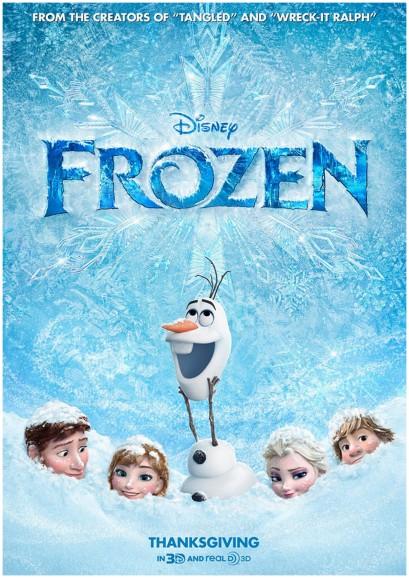 Frozen, kids movie, Disney