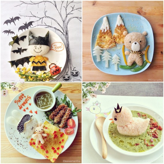 art food for children by samantha lee