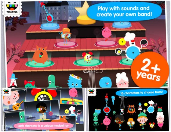 best apps for children toca boca