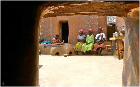 tiebele houses in burkina faso