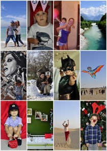 year in photos collage