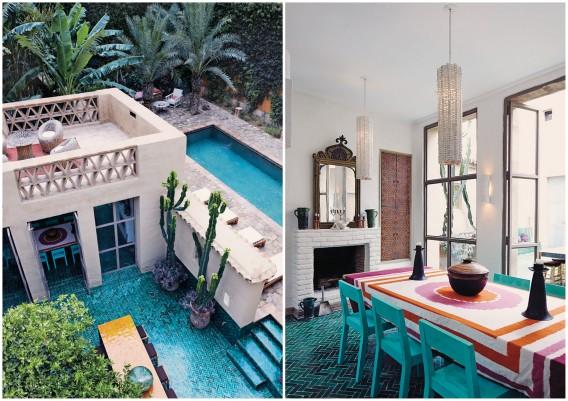 Taroudant Morocco stylish villa La Bergerie