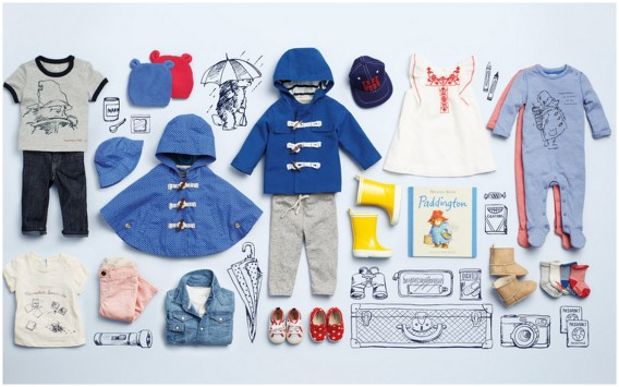 new baby collection from baby gap paddington bear