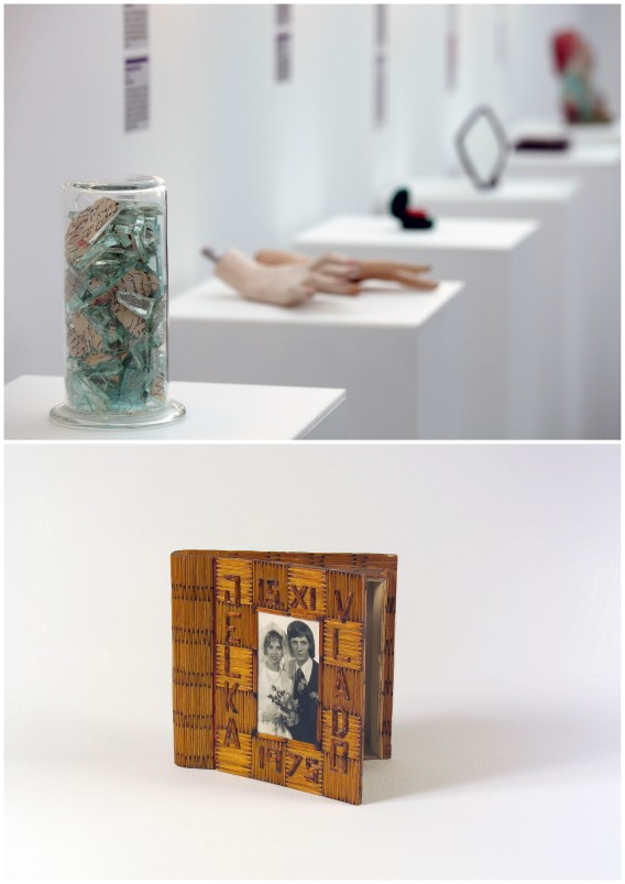 collections of items at the museum of broken relationships in zagreb