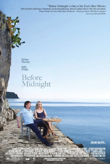 romantic comedy before midnight with ethan hawke and julie delpy
