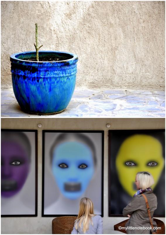 art gallery in al fahidi neighbourhood in dubai