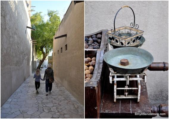 al fahidi (former bastakiya) neighbourhood in dubai