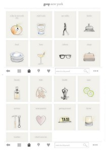 goop city guides app by gwyneth paltrow