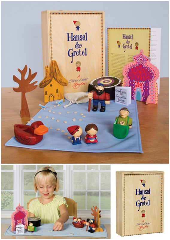 Hansel and Gretel story box for story telling