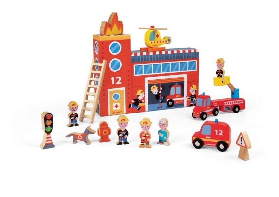Storytelling can be fun with story box like this - Fire station