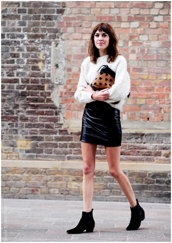 woman with style alexa chung