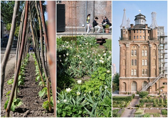 Former water tower turned into a hotel Villa Augustus