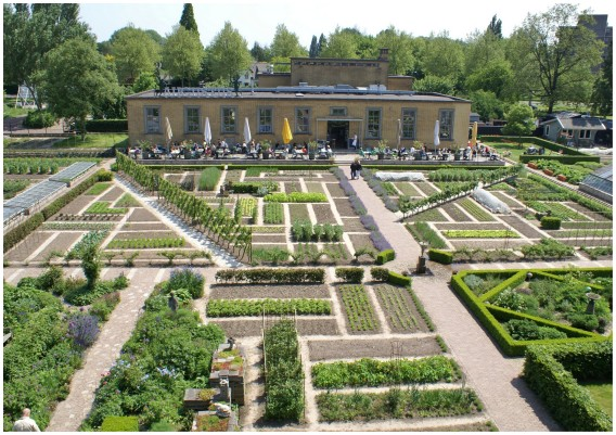 Hotel in Dordrecht Villa Augustus and its garden