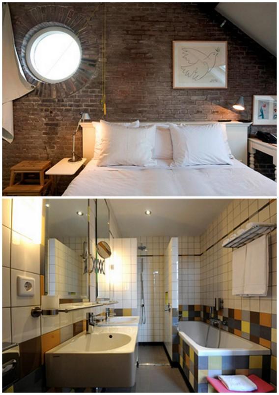 Dutch design hotel Villa Augustus in Dordrecht
