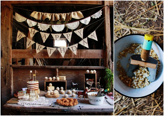 Decorative ideas for a horse party