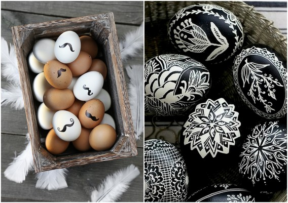 artistic and fun easter eggs