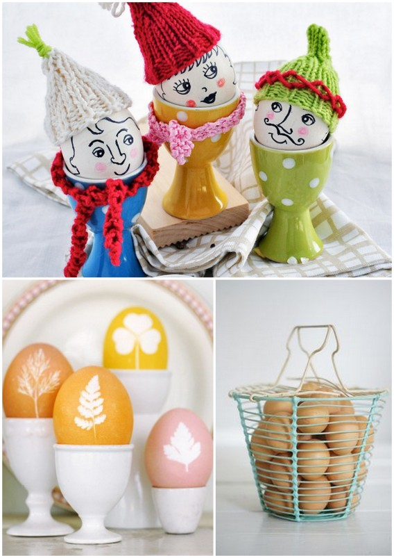 coloring and decorating eggs for easter