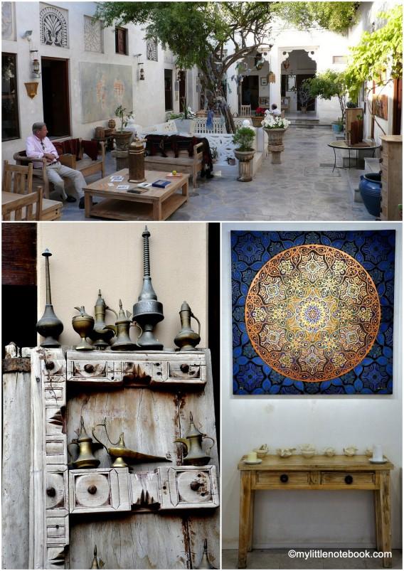 art galleries in bastakiya