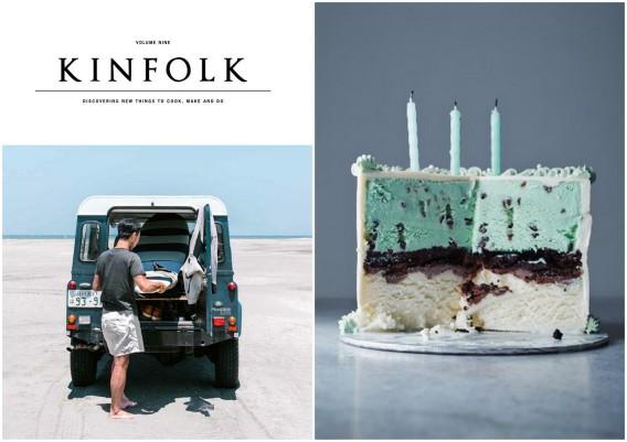 kinfolk and a mint cake
