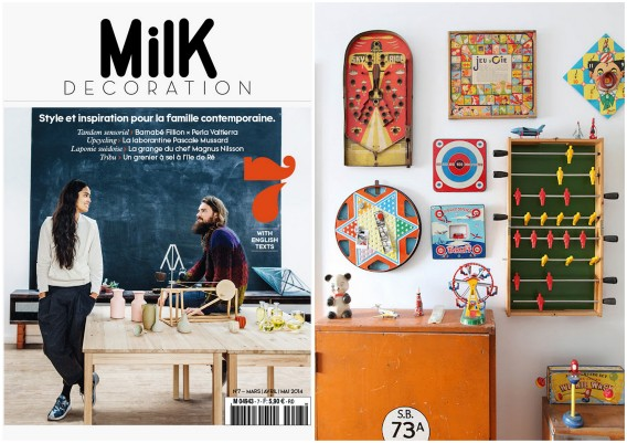 french lifestyle magazine for contemporary families MILK