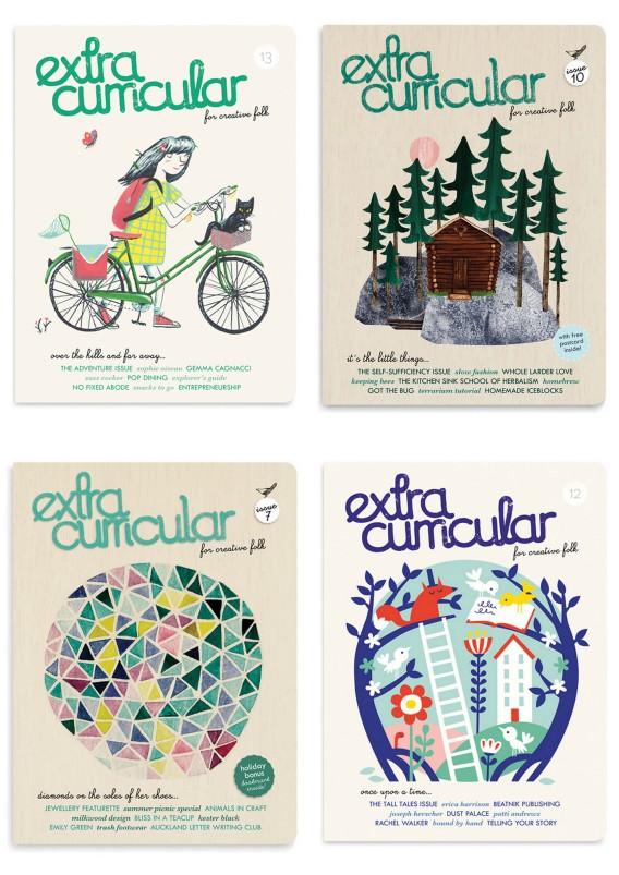 magazine for creative folks : Extra Curricula