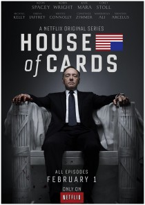kevin spacey in TV series House of Cards