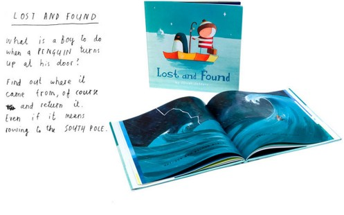 oliver jeffers book for children: lost and found