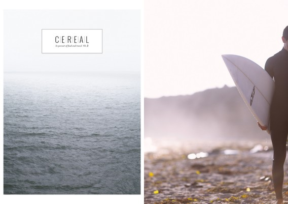 Travel and lifestyle magazine : Cereal