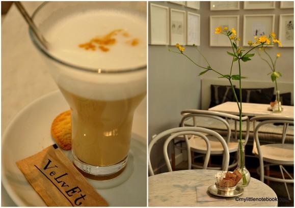 caffe Velvet in Zagreb, Croatia