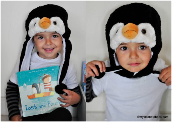 penguin costume inspired by lost and found book