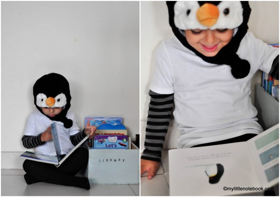 penguin costume for the world book day