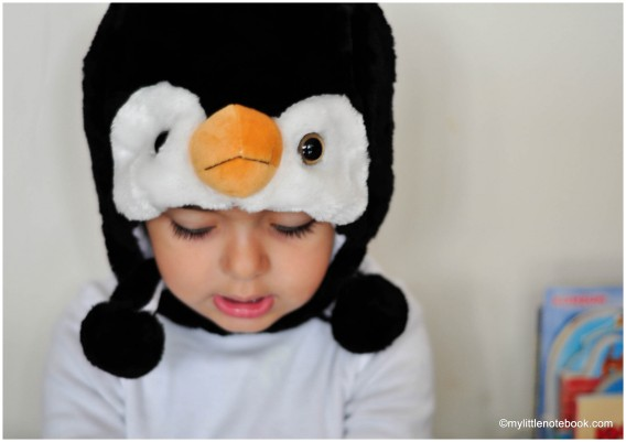 dress up as penguin