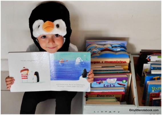 dress up penguin costume