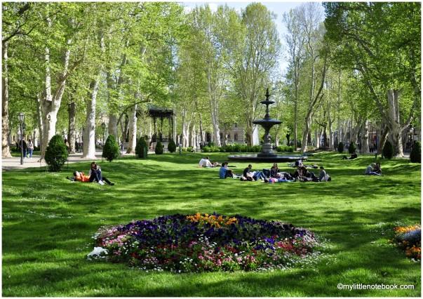 Zagreb in spring, Croatia