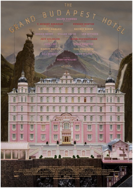 new movie release in 2014 - the grand budapest hotel