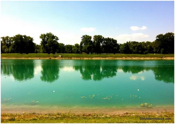Lake Jarun in Zagreb, Croatia