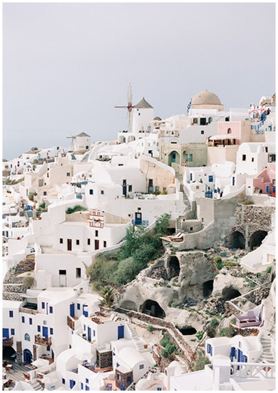 houses of santorini, oia