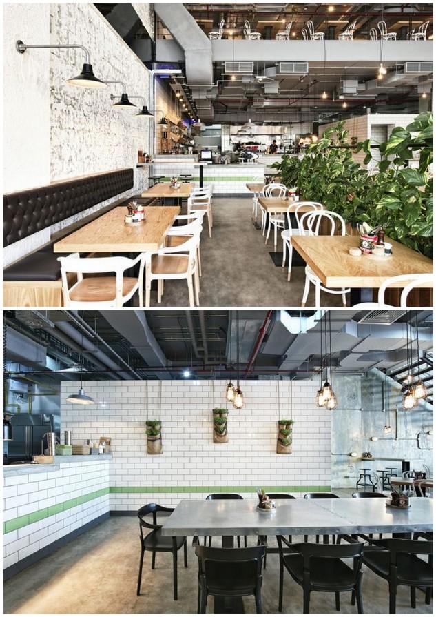 Dubai restaurants and cafe