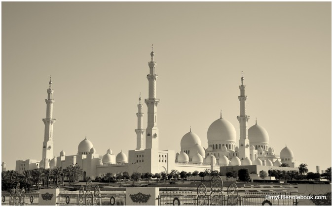 abu dhabi attractions mosque