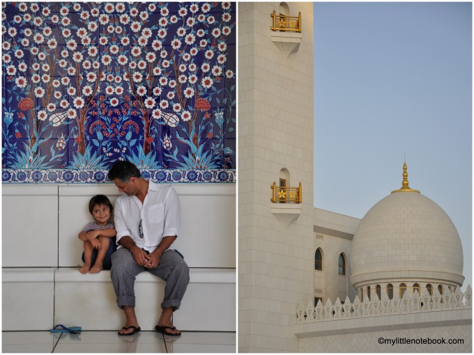 visiting grand mosque in abu dhabi