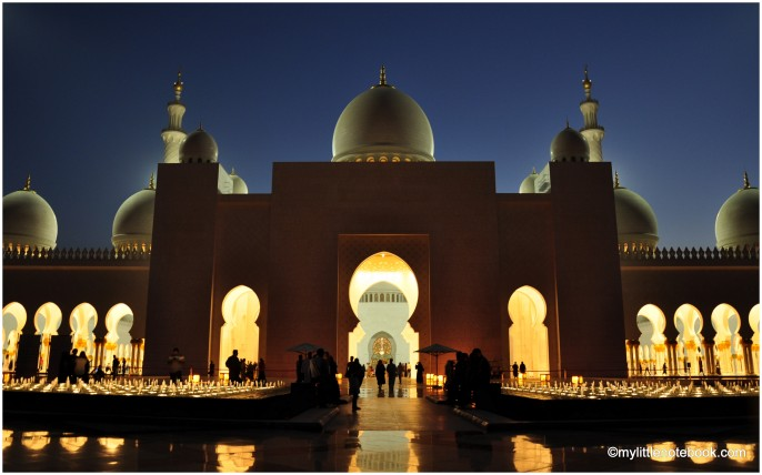 abu dhabi for visitors, mosque