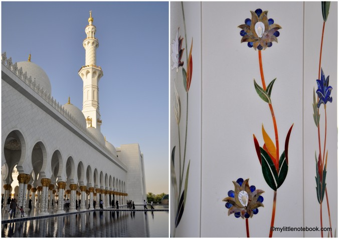 beautiful mosque in abu dhabi 1 hr from dubai