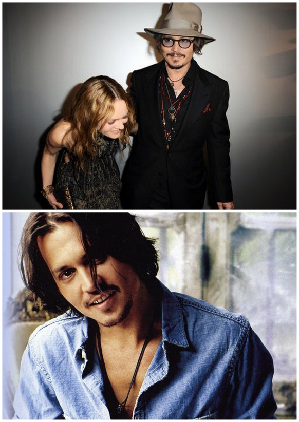 johnny depp and his ex wife Vanessa