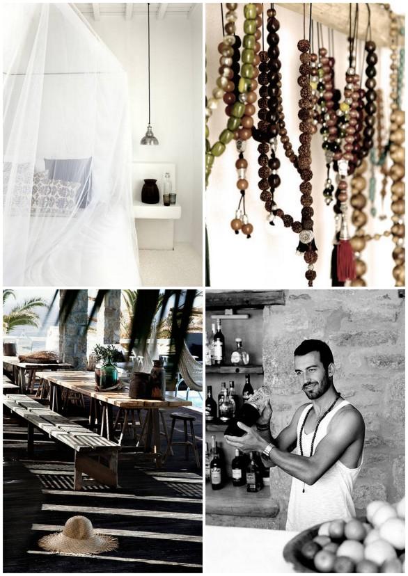 Bohemian luxury in Greece