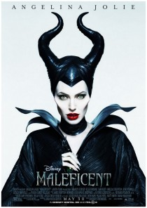 angelina jolie in disney's movie Maleficent