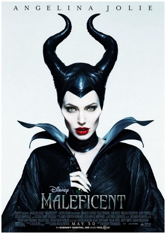 angelina jolie in disney's movie Maleficent