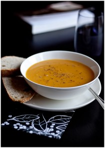 new restaurant in zagreb lari&penati serves delicious pumpkin soup