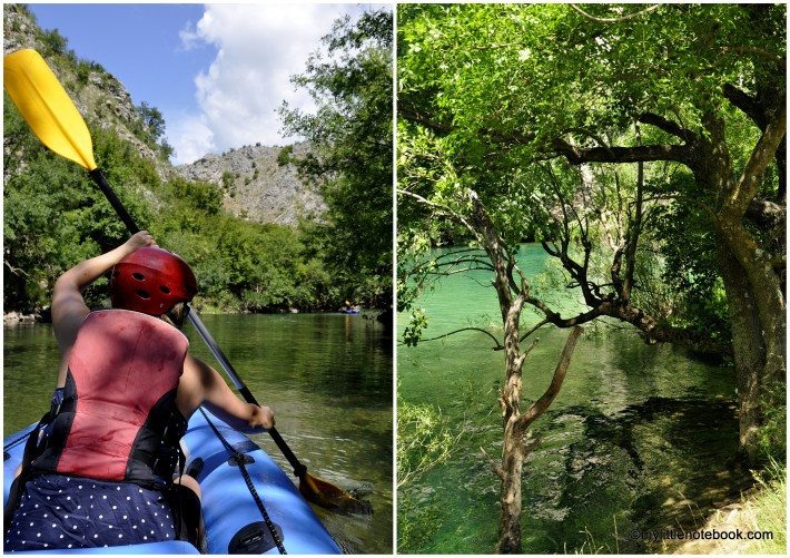 zrmanja river in croatia, the most beautiful river in europe